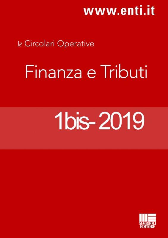 Rassegna novità 1-5 gennaio 2019 - Ufficio Tributi