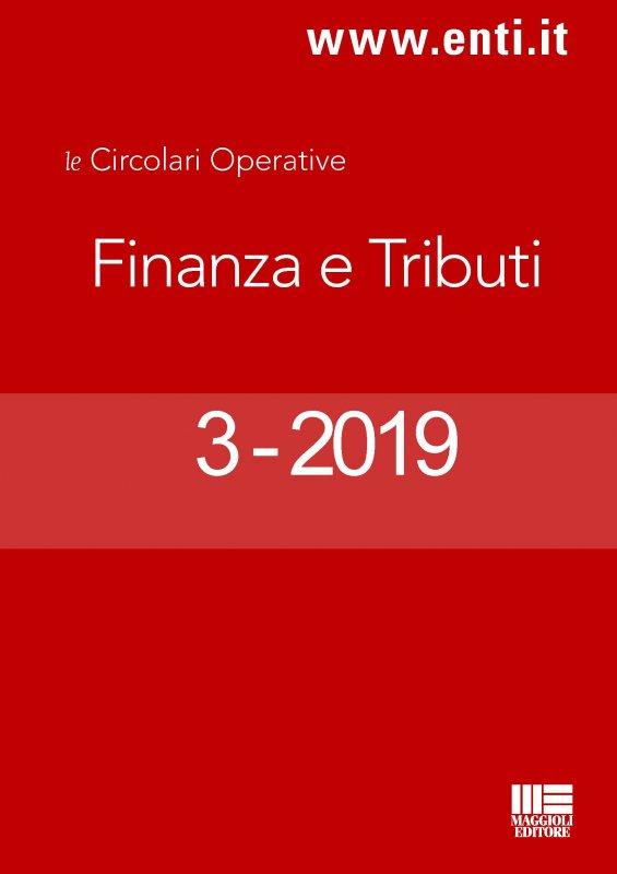 Rassegna Novità 7-12 gennaio 2019 - Finanza