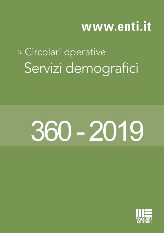 Le principali novità in materia di servizi demografici dal 14 al 19 ottobre