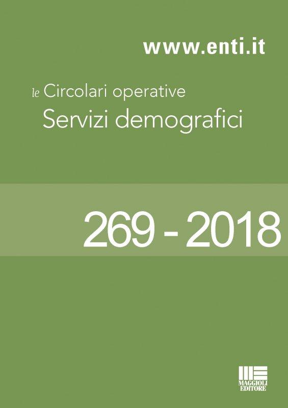 Le principali novità in materia di servizi demografici dal 15 al 20 ottobre