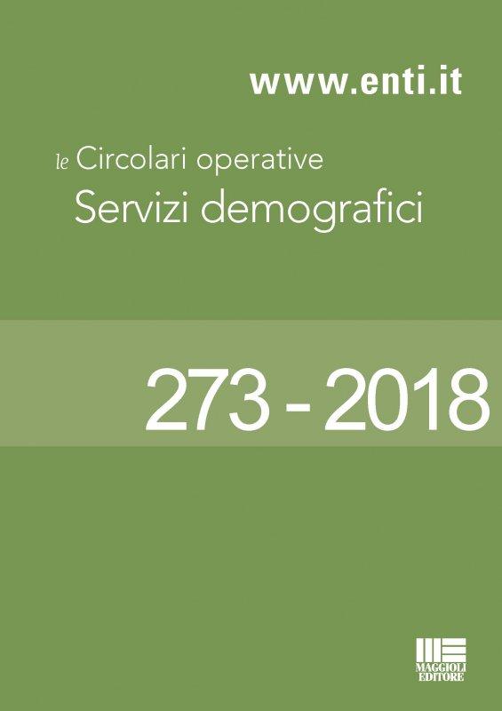 Le principali novità in materia di servizi demografici dal 29 ottobre al 3 novembre
