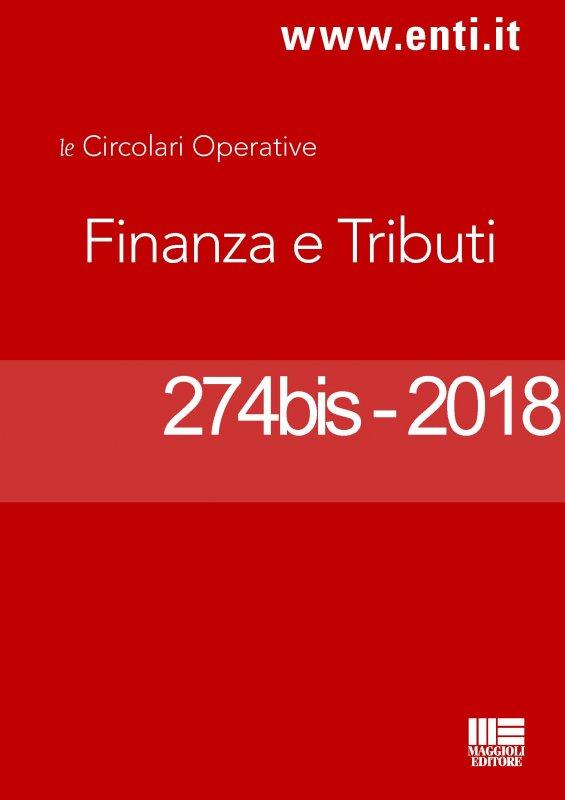 Rassegna novità 12 - 17 novembre 2018 per l'Ufficio Tributi