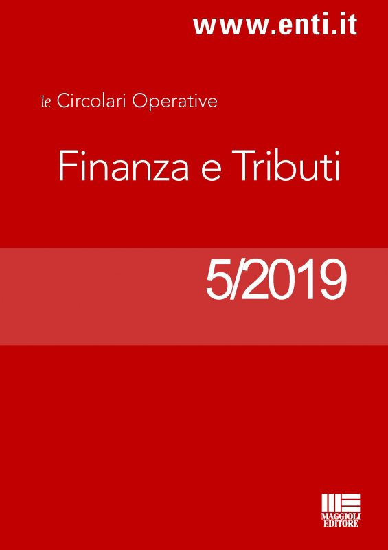 Rassegna Novità 14-19 gennaio 2019 - Ufficio Tributi