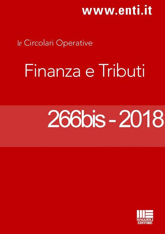 Rassegna novità 15 – 20 ottobre 2018 per l'Ufficio Tributi
