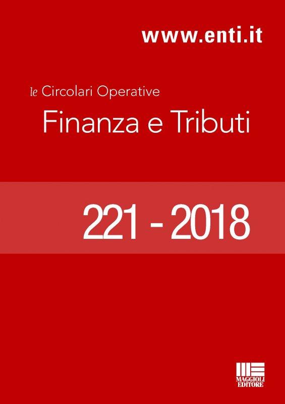 Rassegna novità 16 - 21 aprile 2018 - Ufficio Ragioneria