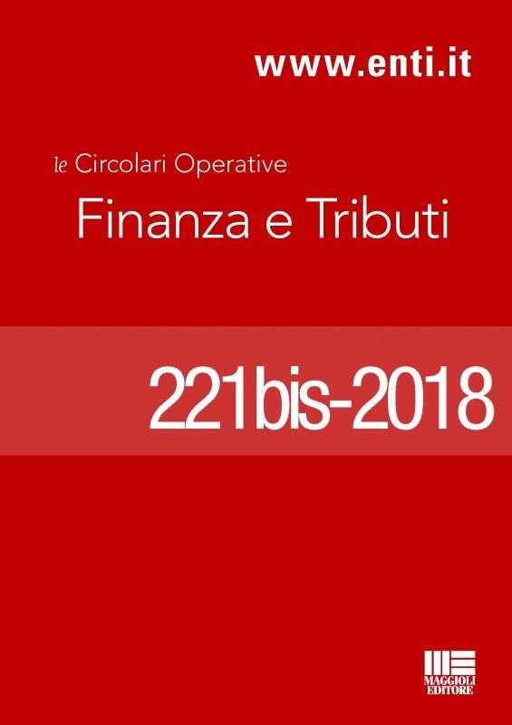 Rassegna novità 16 - 21 aprile 2018 - Ufficio Tributi