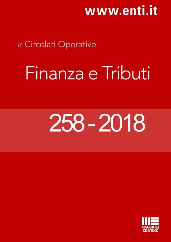 Rassegna novità 17 - 22 settembre 2018 per l'Ufficio Ragioneria