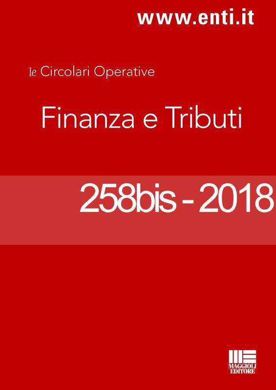 Rassegna novità 17 - 22 settembre 2018 per l'Ufficio Tributi