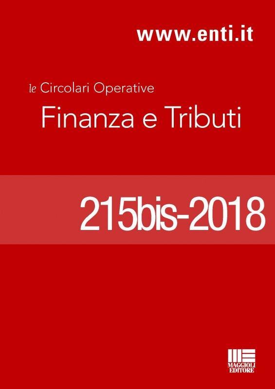 Rassegna novità 19 - 24 marzo 2018 - Ufficio Tributi