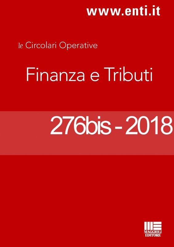Rassegna novità 19 - 24 novembre 2018 Ufficio Tributi