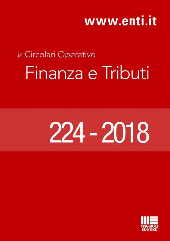 Rassegna novità 23 aprile - 5 maggio 2018 - Ufficio Ragioneria