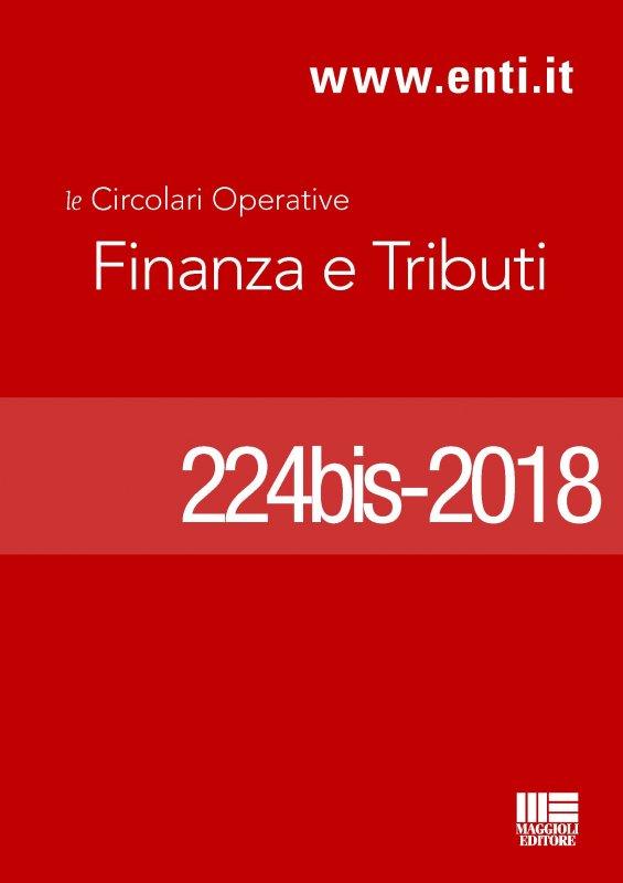 Rassegna novità 23 aprile - 5 maggio 2018 - Ufficio Tributi
