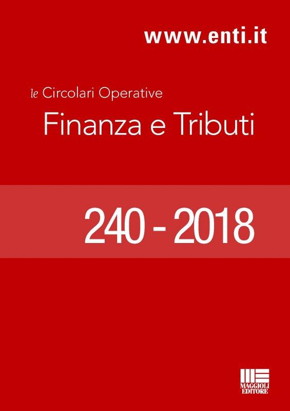 Rassegna novità 25 – 30 Giugno 2018 - Ufficio Ragioneria