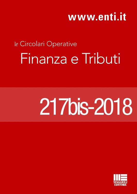 Rassegna novità 26 marzo – 7 aprile 2018 - Ufficio Tributi