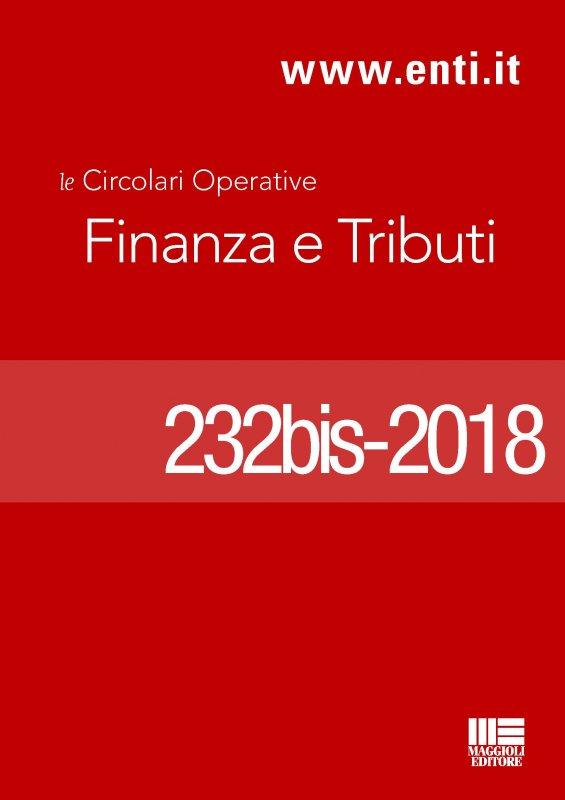 Rassegna novità 28 maggio - 2 giugno 2018 - Ufficio Tributi