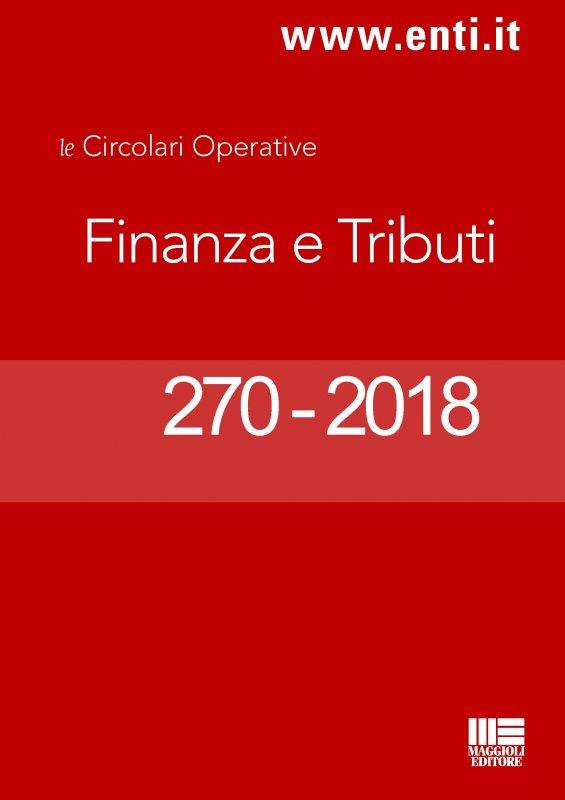Rassegna novità 29 ottobre - 3 novembre 2018 per l'Ufficio Ragioneria