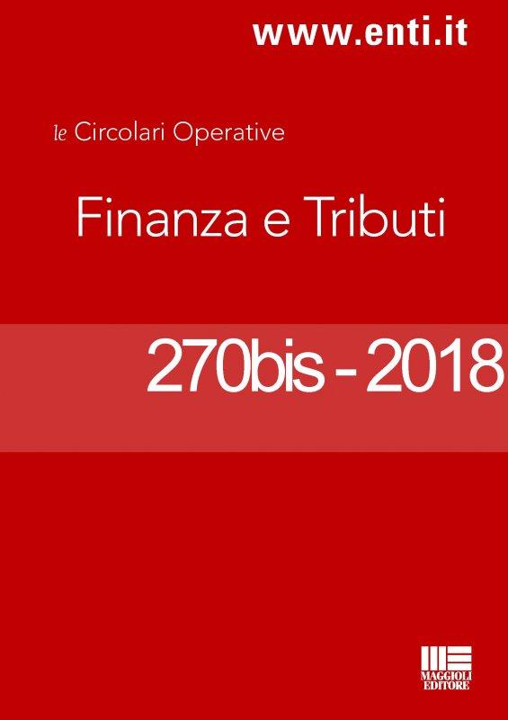 Rassegna novità 29 ottobre - 3 novembre 2018 per l'Ufficio Tributi