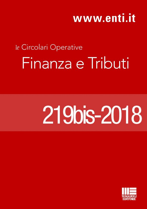 Rassegna novità 9 - 14 aprile 2018 - Ufficio Tributi