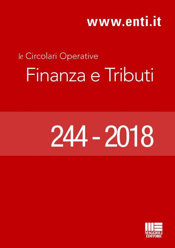 Rassegna novità 9 - 14 Luglio 2018 per l'Ufficio Ragioneria