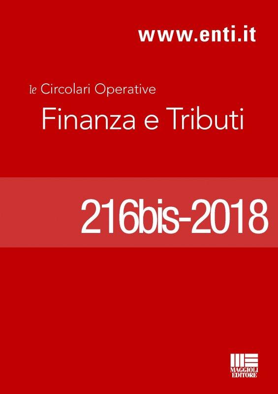 Scadenze Aprile 2018 - Ufficio Ragioneria